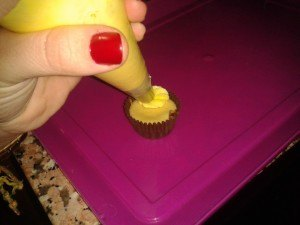 cupcakes de limoncello